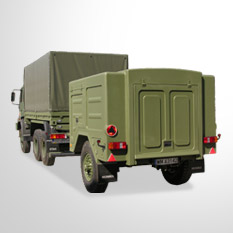 Armpol - Rough terrain container transport set